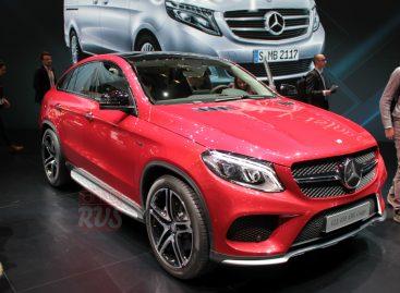 Купе-кроссовер от Mercedes-Benz