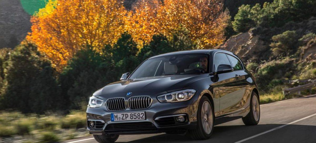 Первая вылазка рестайлинга BMW 1 серии