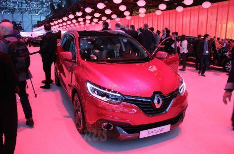 Renault представила компактный кроссовер