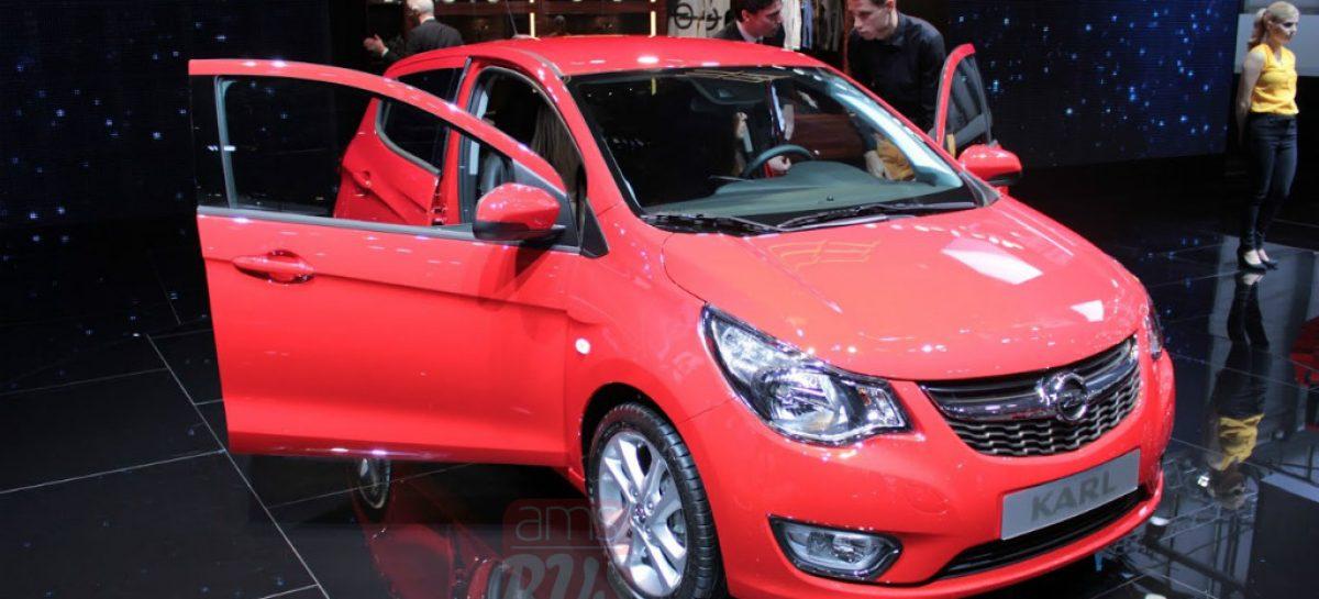 Маленький и симпатичный Opel Karl