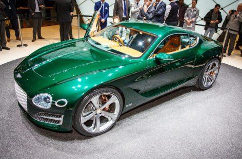 Концепт EXP 10 Speed 6  – намек на серийную спорт-двухдверку от Bentley