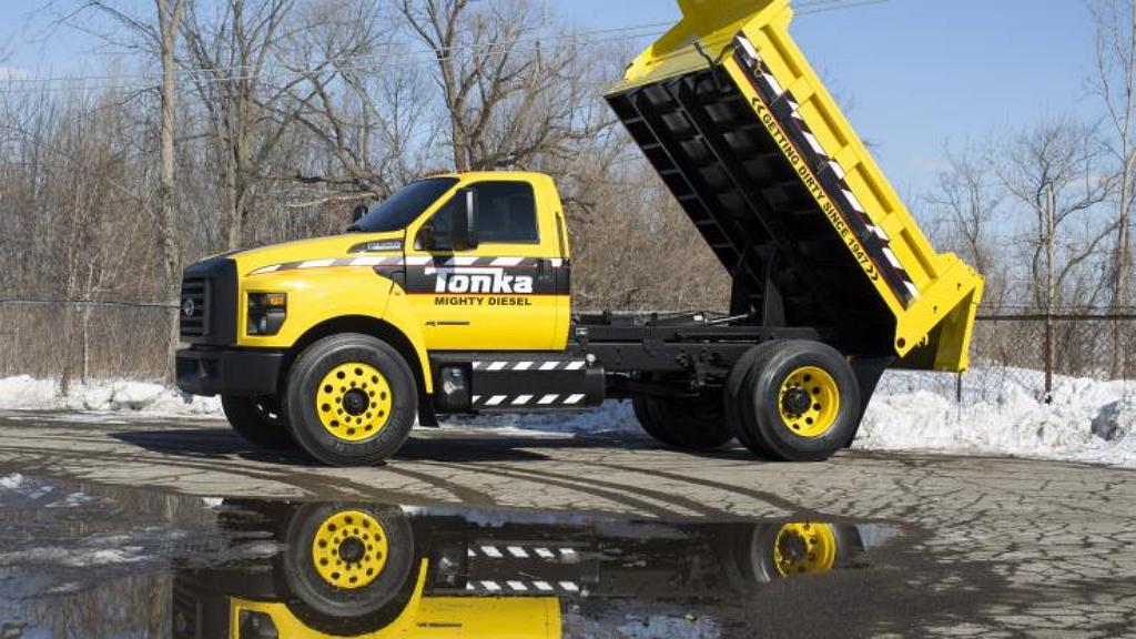 концепт Ford F750 Tonka