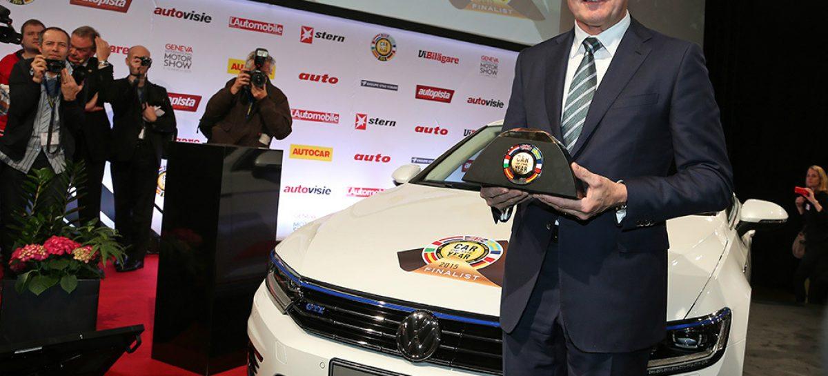 Volkswagen Passat стал автомобилем года в Европе