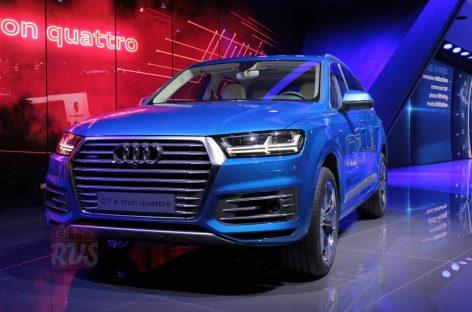 Audi Q7 добралась до Европы