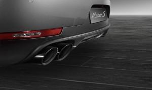 выхлопная система Porsche Exclusive для Macan S (черная)