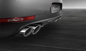 выхлопная система Porsche Exclusive для Macan S (серебристая)