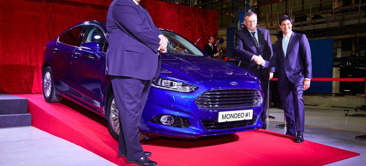 Ford Sollers объявляет о начале производства Ford Mondeo нового поколения