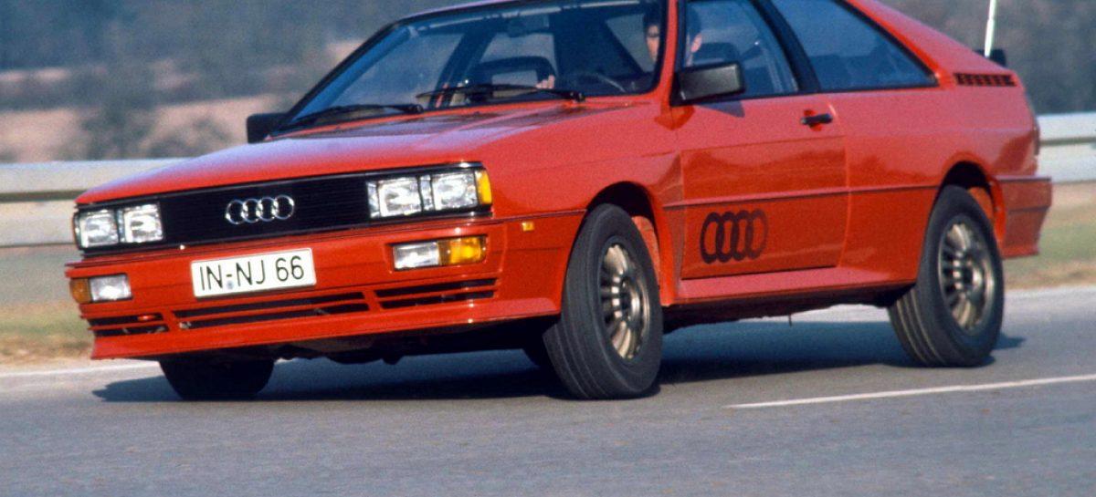 Audi Quattro – первый полноценный легковой полноприводник