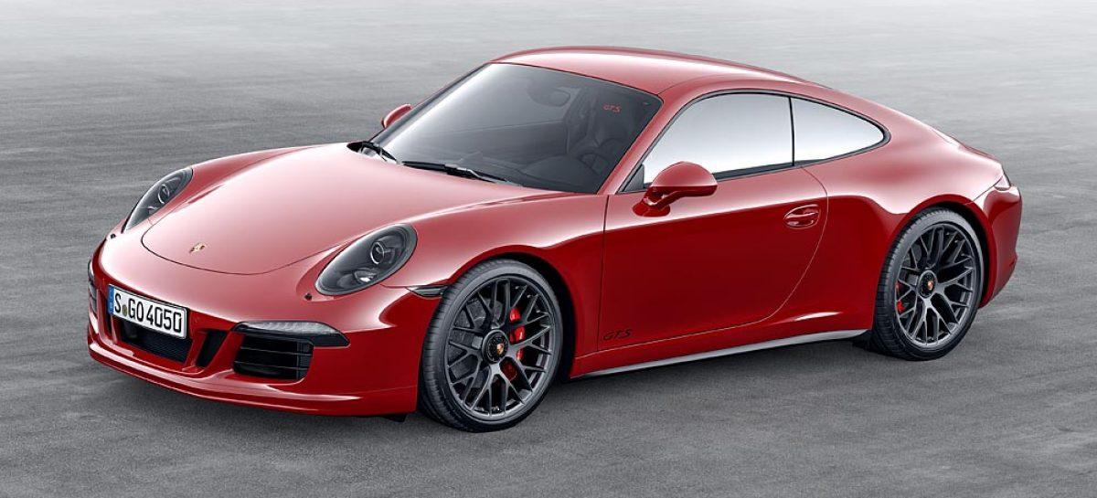 Porsche 911 Carrera GTS приехал в Россию