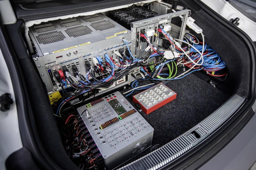 Тест-драйв автопилотируемой Audi A7