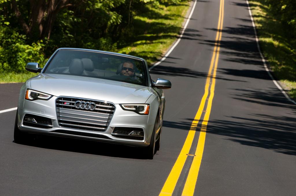 Audi S5 I рестайлинг (кабриолет)