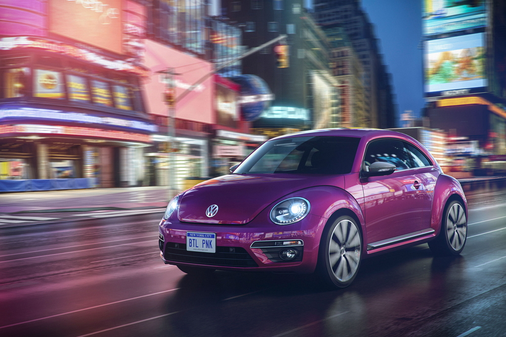 Beetle Pink Edition