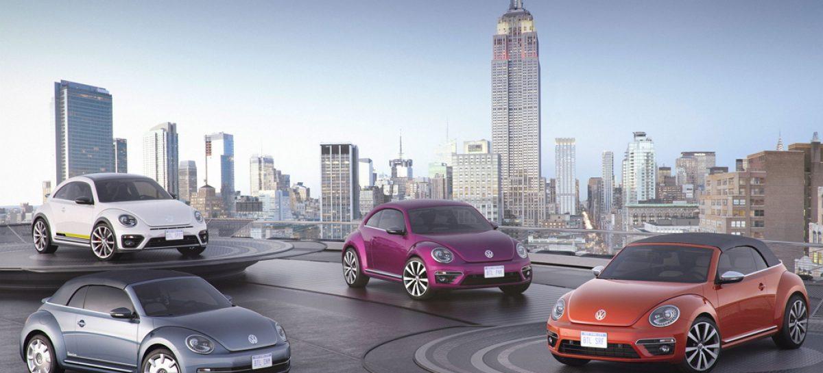 Volkswagen вырастил четырех новых жуков