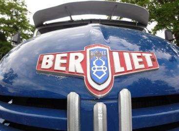 17-местный французский автобус Berliet… на дровах