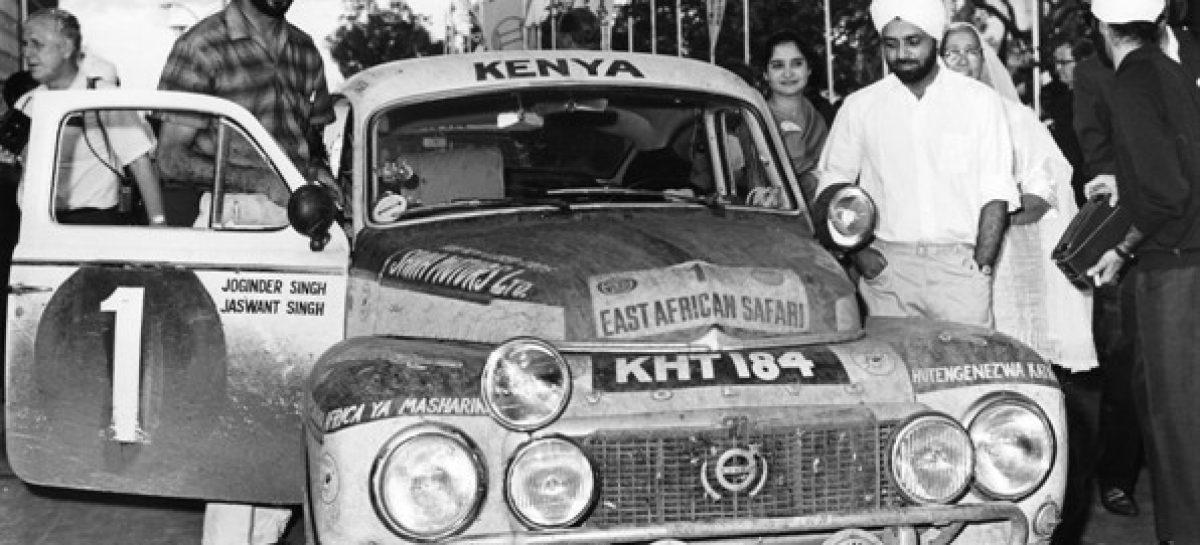 Volvo празднует 50 лет со дня победы братьев Сингх в Ралли Сафари