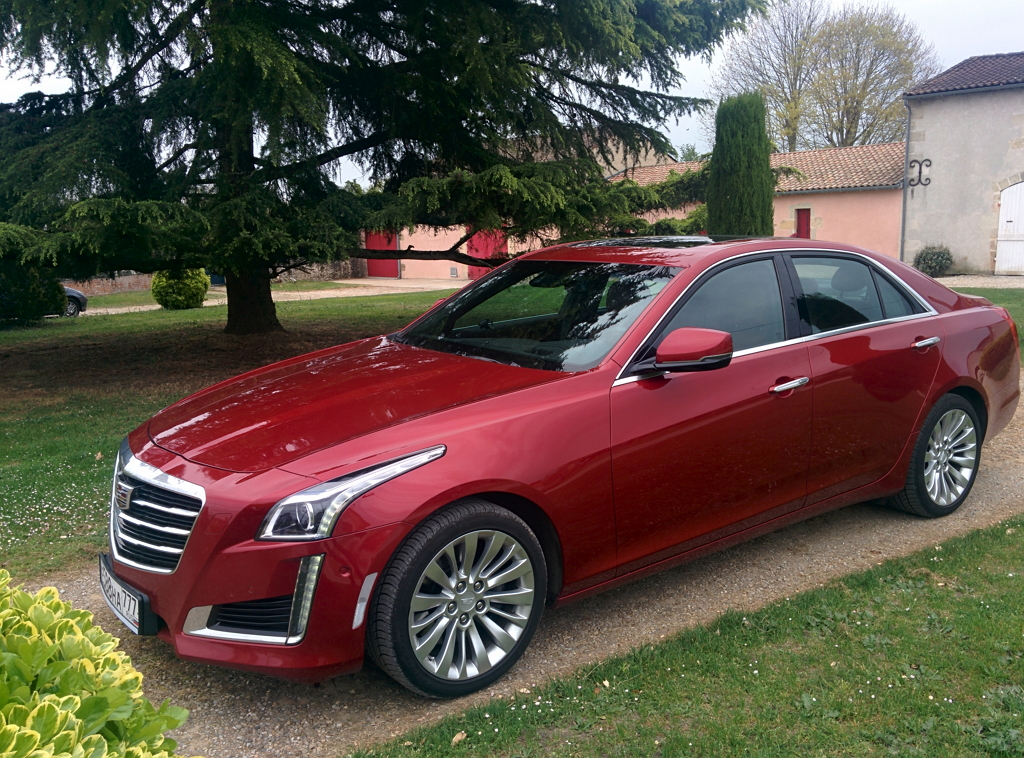 Cadillac CTS на родине Кадиллака