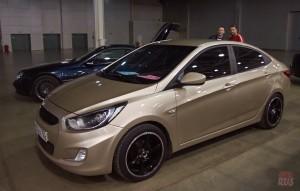 Hyundai Solaris в неотразимом великолепии. Явный победитель в номинации «Латентный тюнинг»