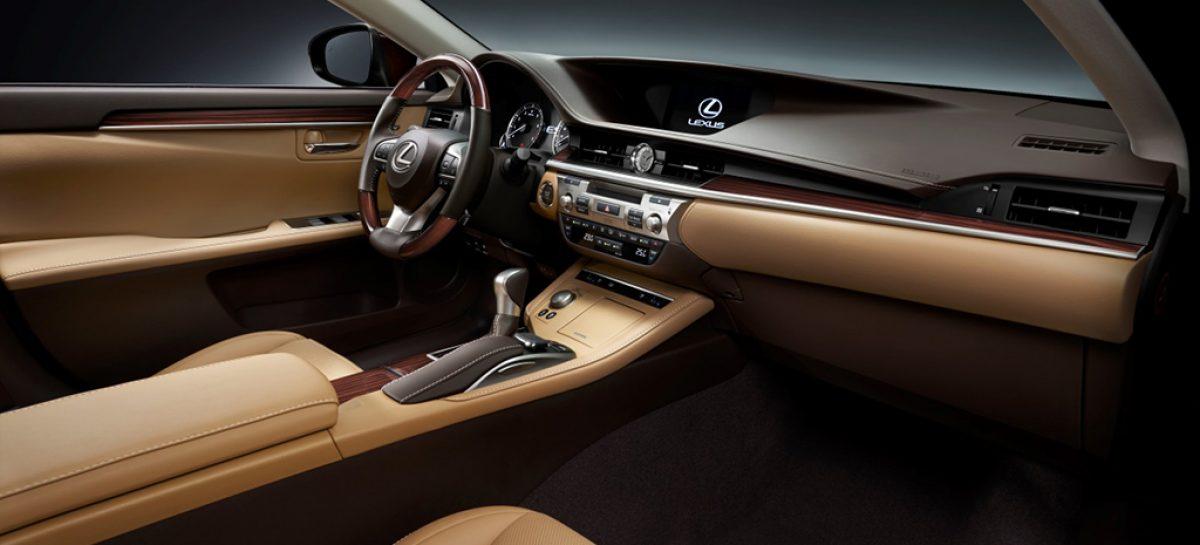 Новый Lexus ES стал более бесшумным и управляемым