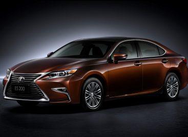 Новый Lexus ES уже доступен для заказа