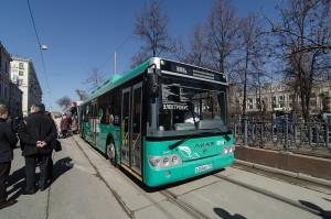Электробус, разработанный Группой ГАЗ