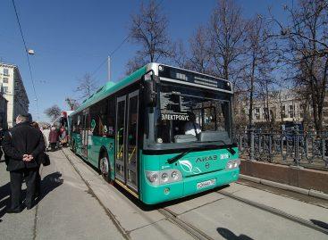 В Москве начали испытывать электробус