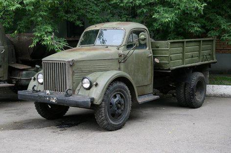 ГАЗ-51 – самый массовый грузовик СССР