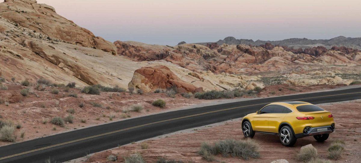 Mercedes показал концепт GLC Coupe