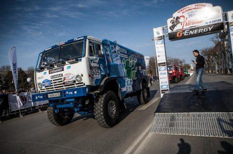 Газовый КАМАЗ – один из участников Золота Кагана 2015