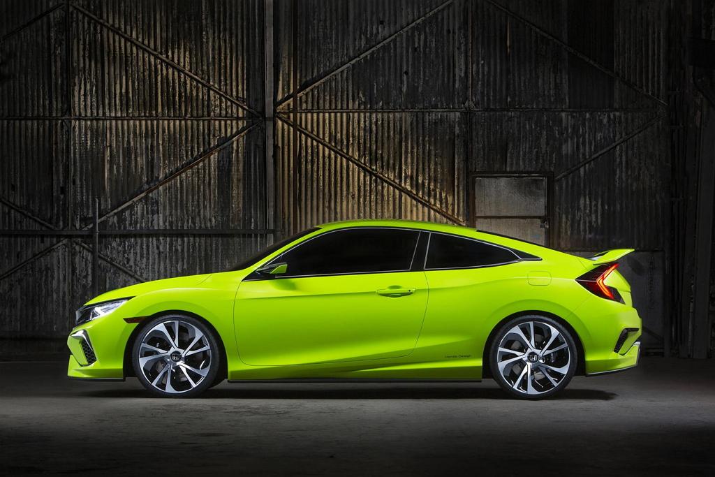 Honda Civic (концепт) Нью-Йорк 2015