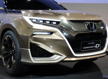 Экзотический концепт-кроссовер от Honda метит в Китай