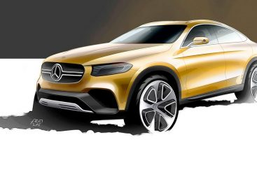 Mercedes-Benz представит концепт GLC Coupe