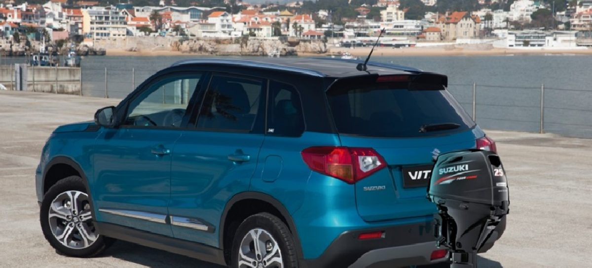 Suzuki создала внедорожник-амфибию Vitara Cross Water