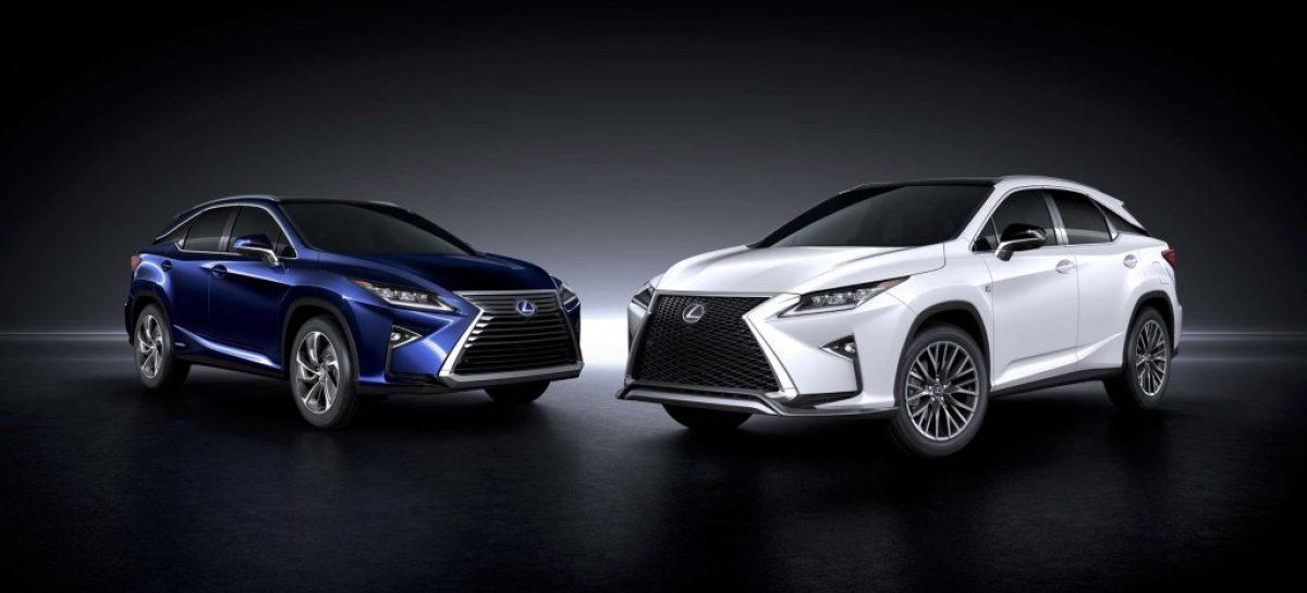 Новое поколение Lexus RX представлено официально
