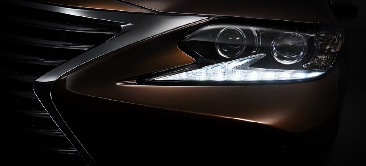 На автосалоне в Шанхае состоится мировая премьера нового Lexus ES