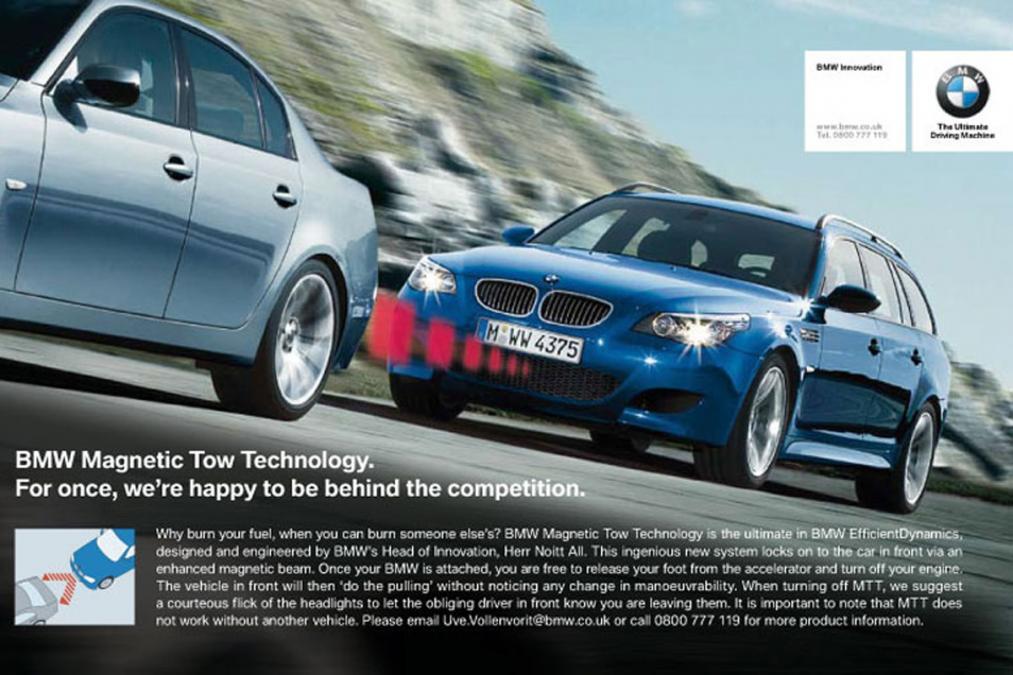 Магнитный буксир BMW