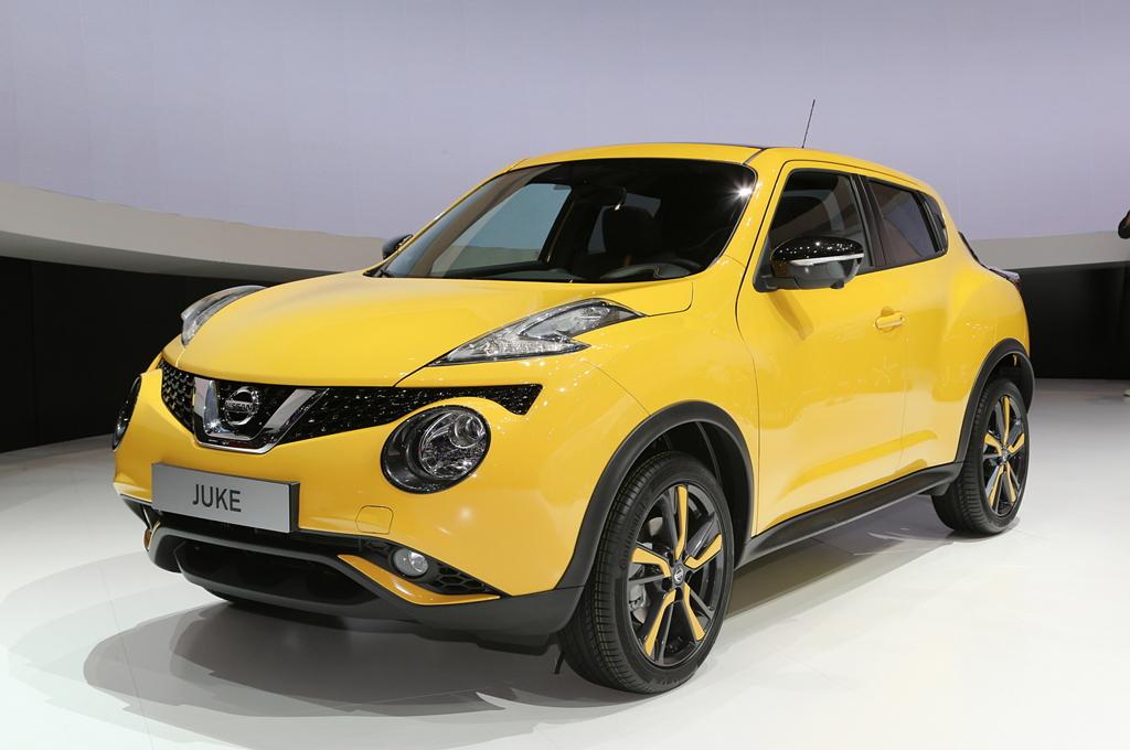 Nissan Juke I (рестайлинг)