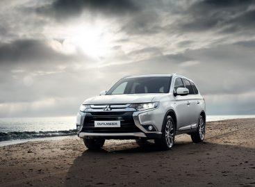 Продажи Mitsubishi Outlander увеличились на 87%