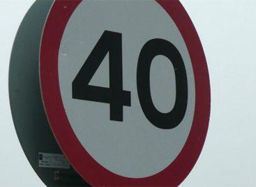 Скорость на дорогах через населенные пункты Ленобласти снизят до 40 км/ч