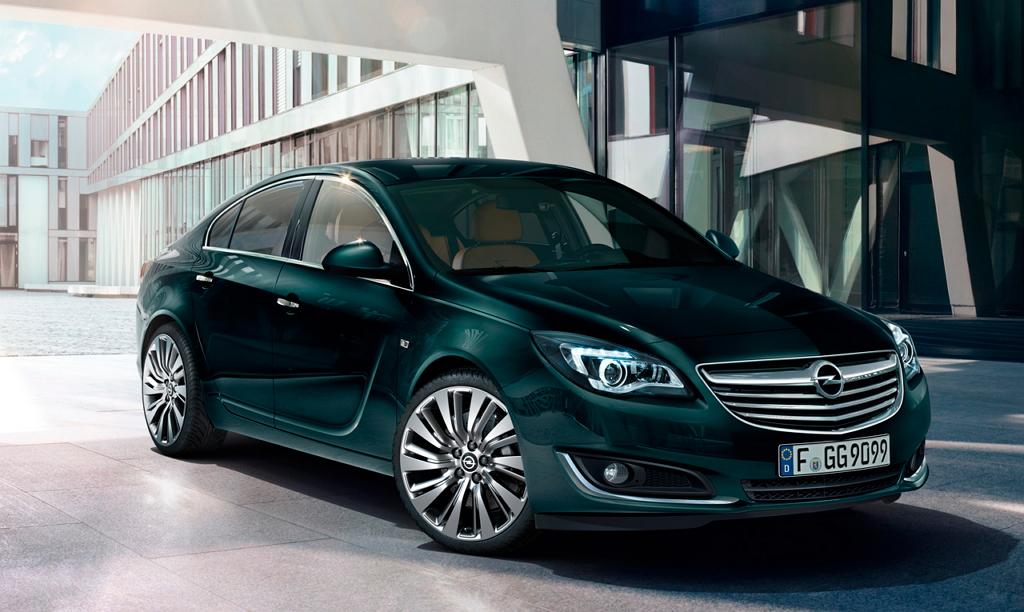 Opel Insignia I (рестайлинг)