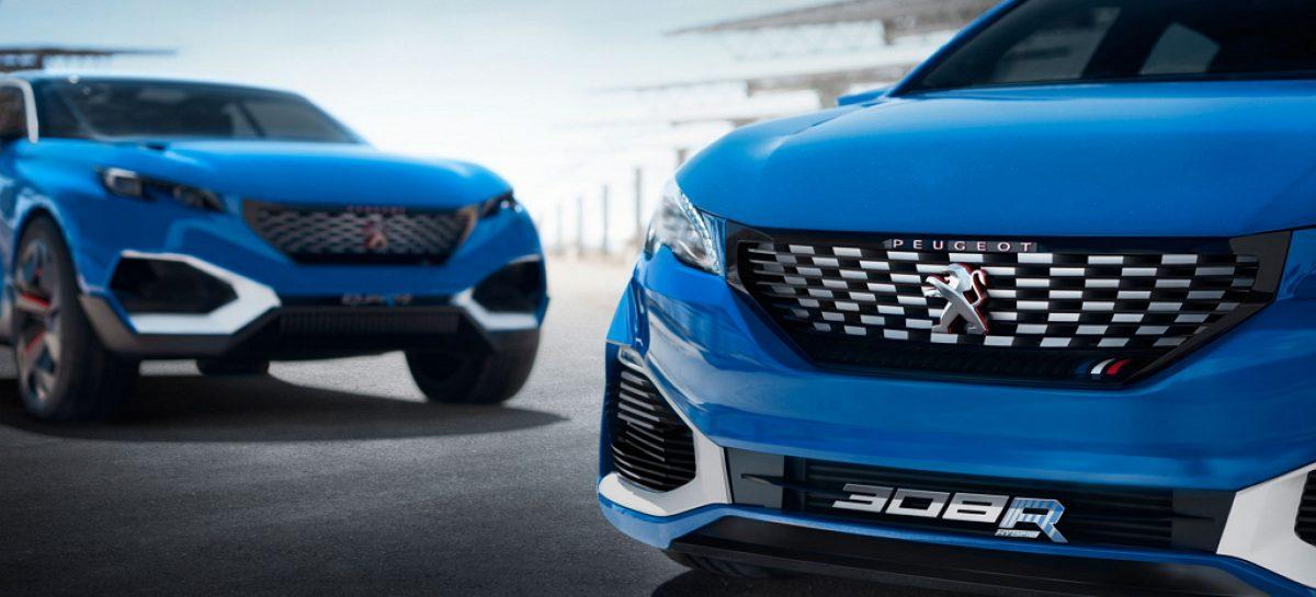 Триста восьмые Peugeot обзавелись концептуальным плагин-гибридом