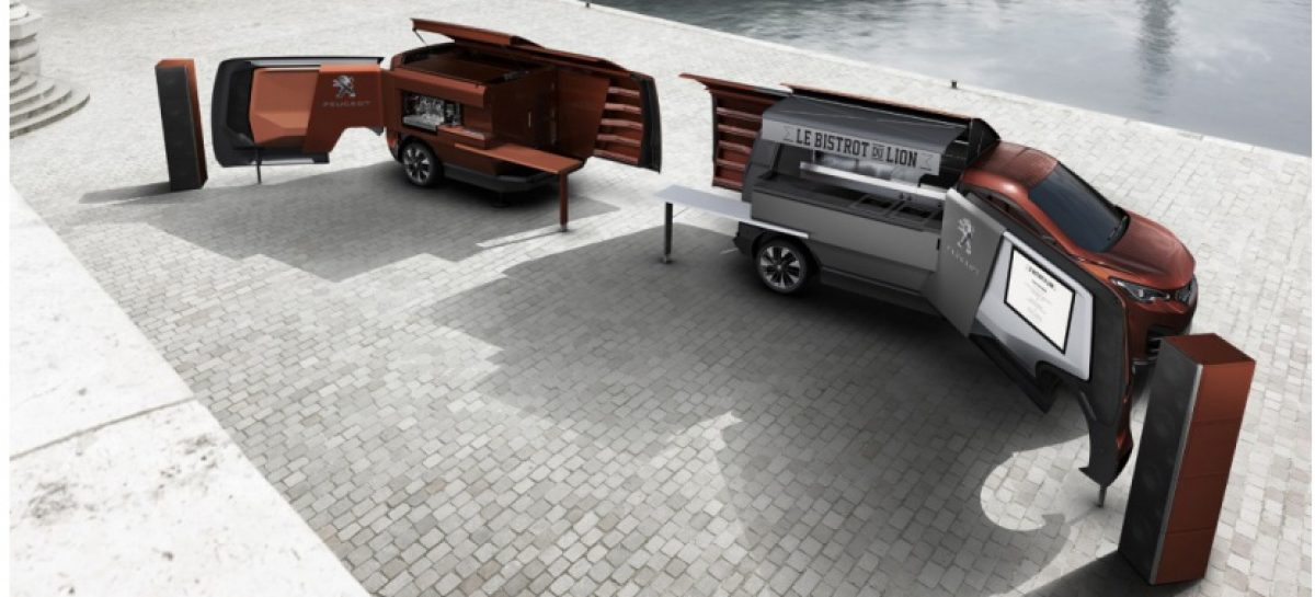 Peugeot Food Truck – эксклюзивный грузовик-ресторан