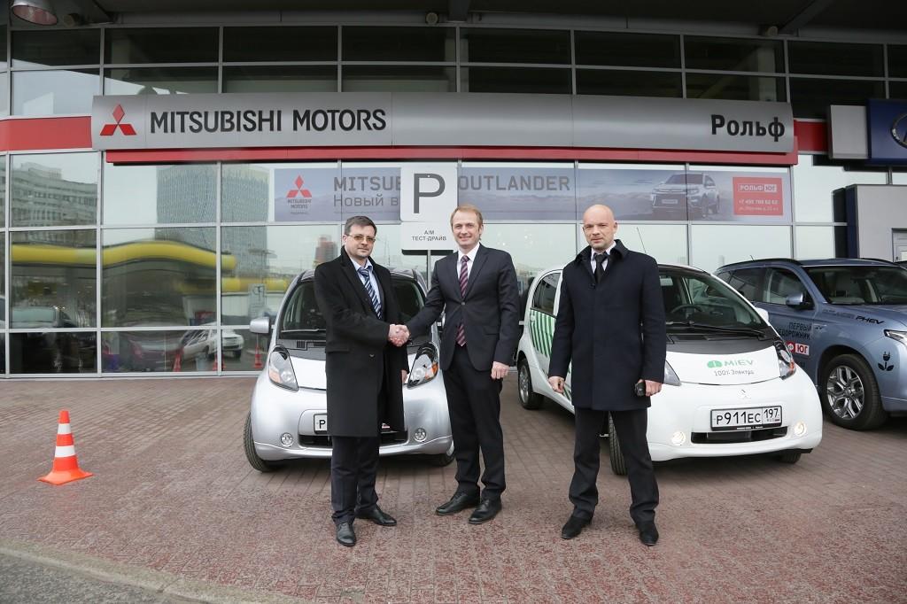 Mitsubishi i-MiEV будут работать парконами