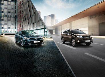 Toyota объявила дисконтную акцию на Camry и RAV4