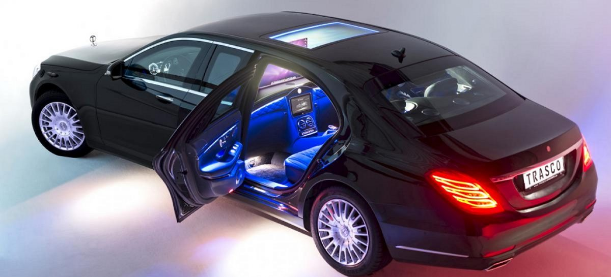 Trasco S-Class – лимузин-броневик с большими возможностями для персонализации