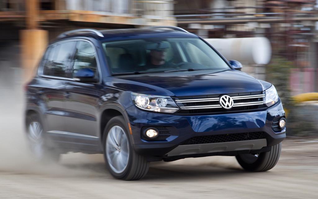Volkswagen Tiguan I (рестайлинг)