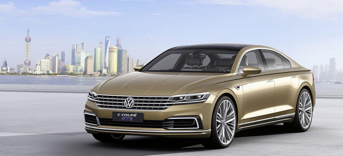 Volkswagen представляет C Coupé GTE и Scirocco GTS