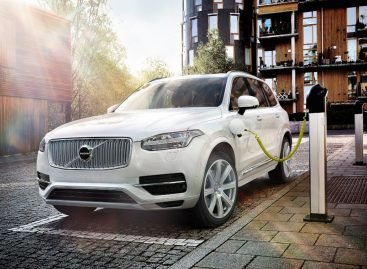 Все будущие модели Volvo будут иметь гибридные версии