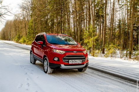 Тест-драйв Ford Ecosport: Маленький чертенок