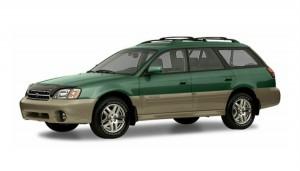 Subaru Outback 2 поколения