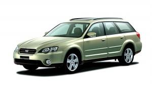 Subaru Outback 3 поколения